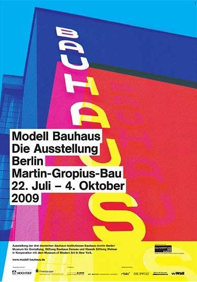 Model Bauhaus flyer