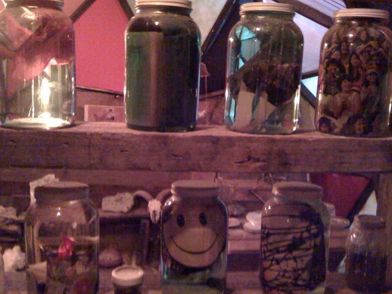 Happy face jar