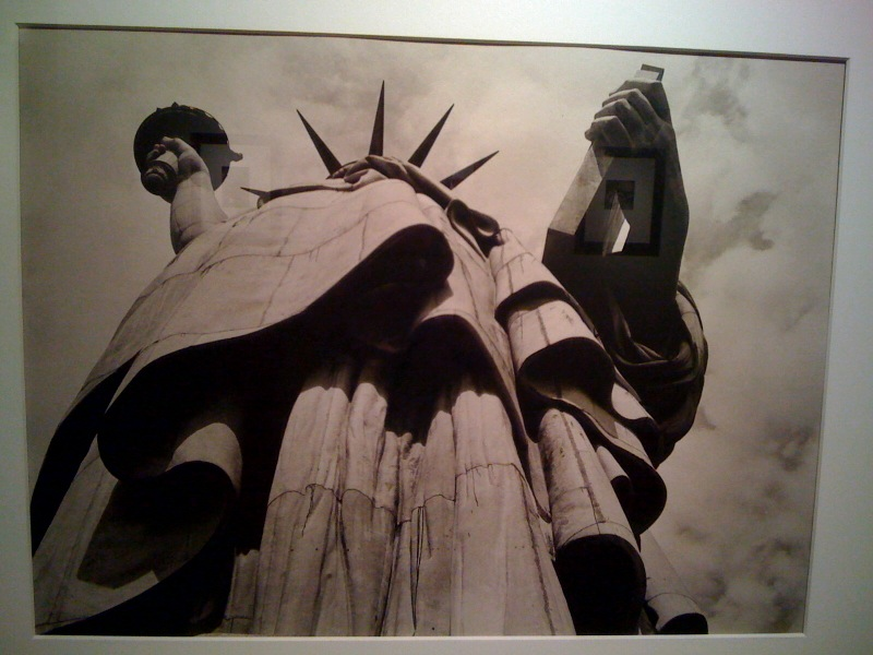 Margaret Bourke-White, State of Lib, NY, 1930