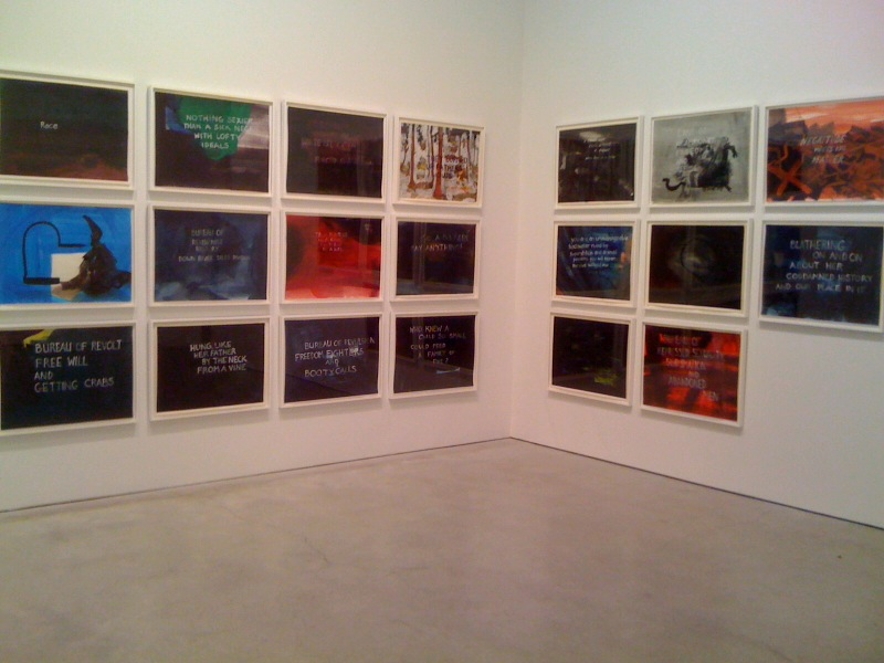 Every Painting is a Dead Ni**er Waiting to Be Born, 2009(2)