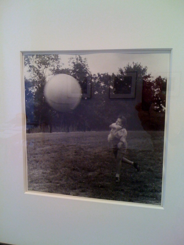 Girl Throwing Ball 2, Southbury, 1957