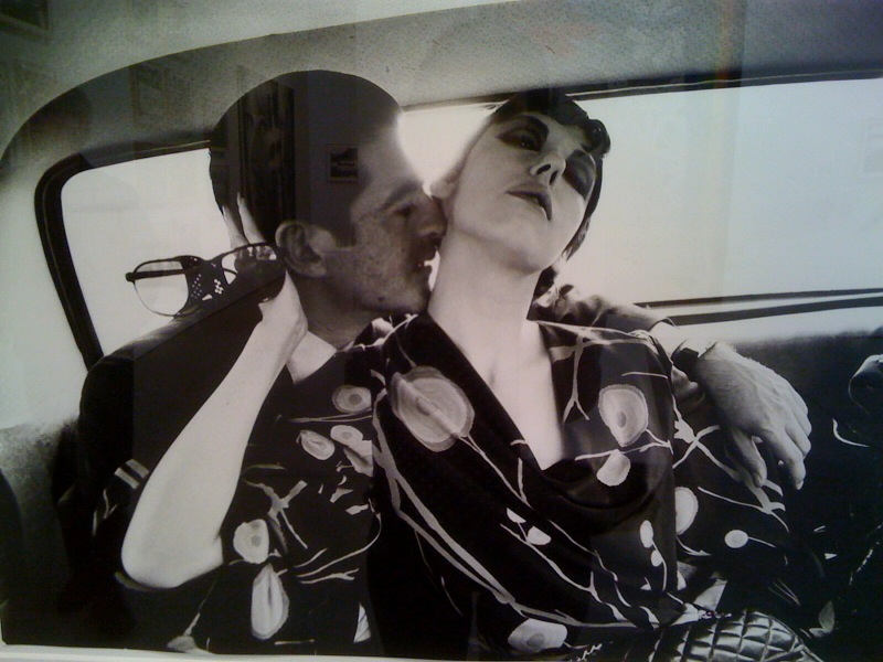 Irving Blum and Peggy Moffitt, 1964
