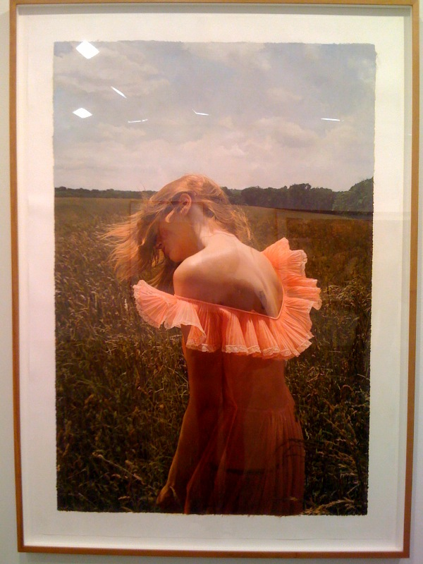 Untitled; Jana in the field, 2009