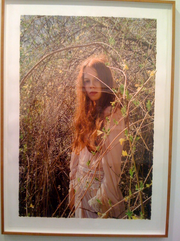 Untitled; Jessica with vines, 2009