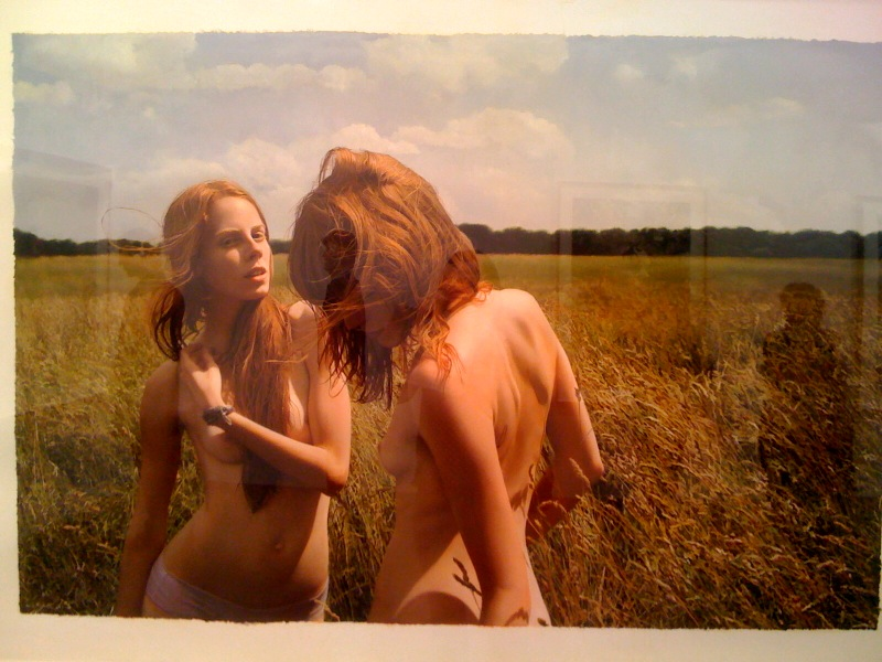 Untitled; Jana and Jessica in the field, 2009