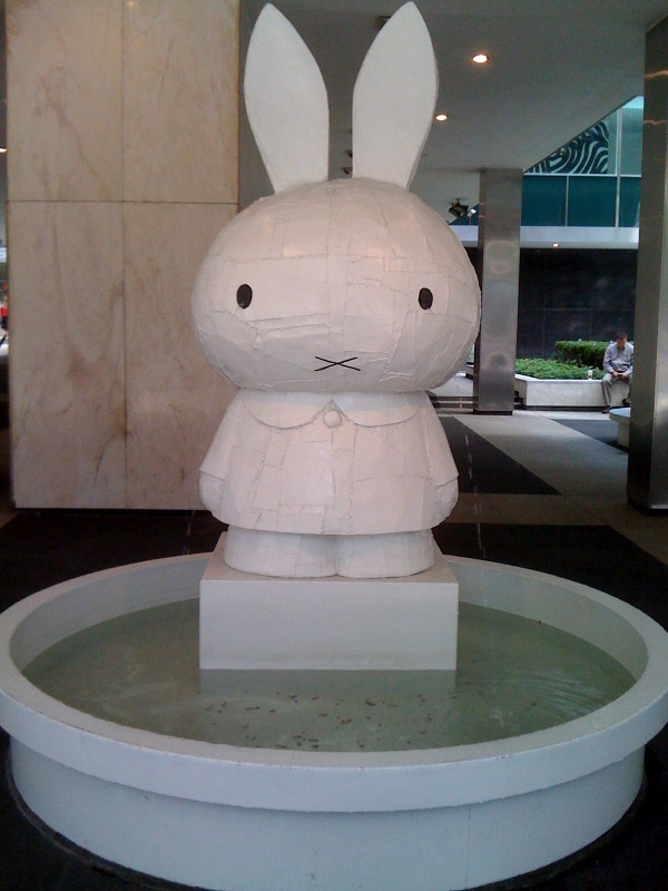 Tom Sachs, Crying Bunny, Front
