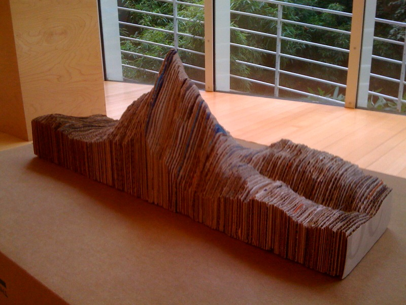 Pointy Cardboard Mountain