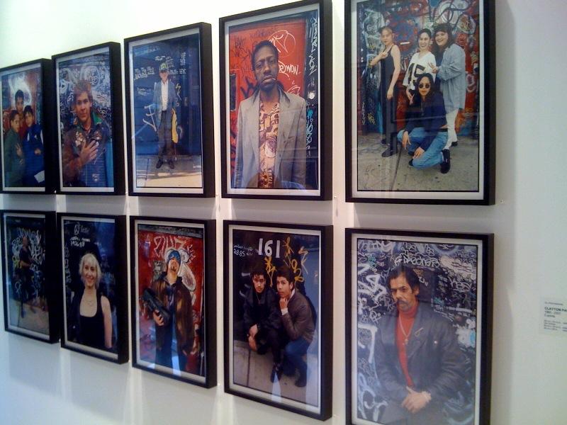 Left wall portraits 2