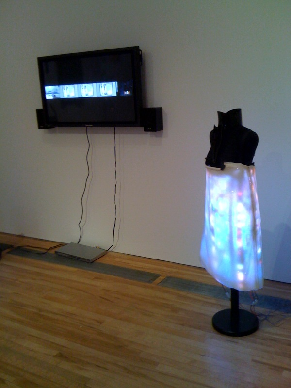 Hussein Chalayan LED Dress, 2007, The Absent Presence, 2005
