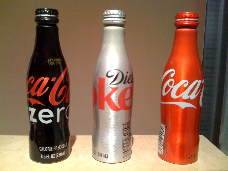 Packaging, Coca-Cola Aluminum Bottle
