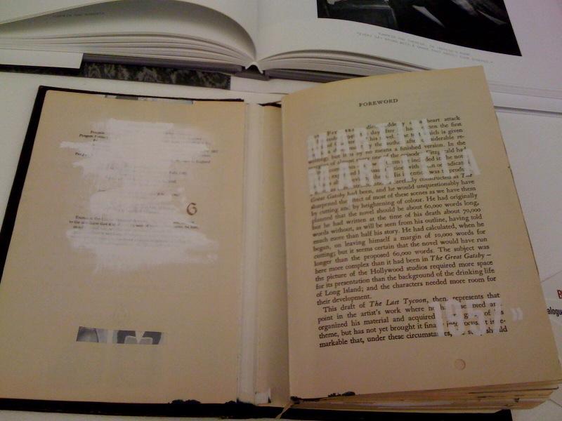 Catalogue for Margiela, Bianca Wendt