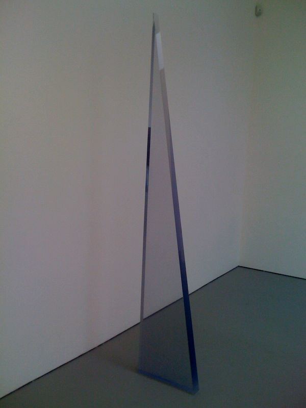 Peter Alexander, Blue Wedge, 1970