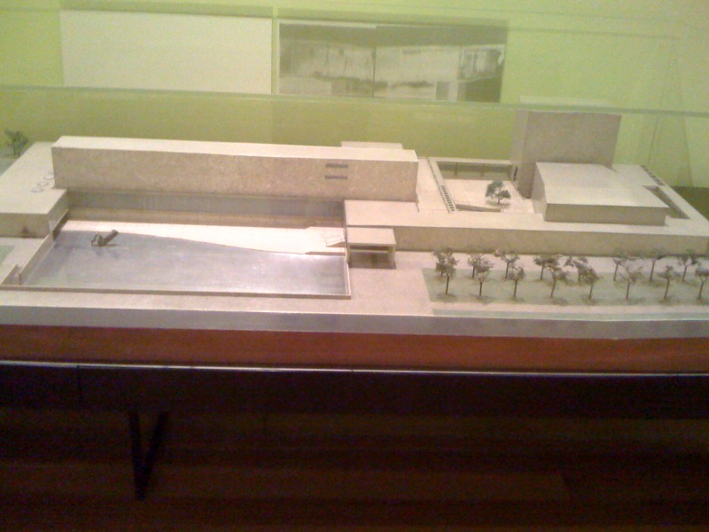 Smithsonian Gallery of Art Competition Washington DC, 1939, unbuilt 2