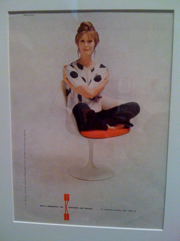 Pedestal Chair ad
