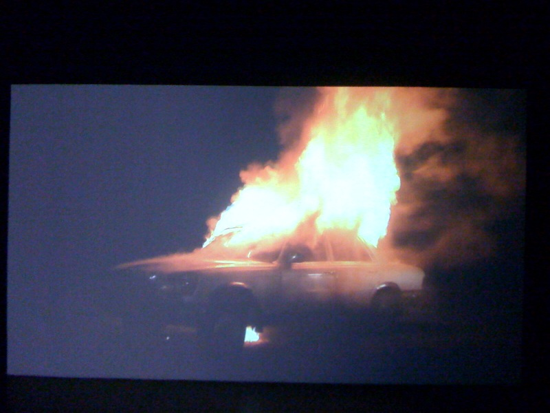 Superflex, Burning Car, 2008