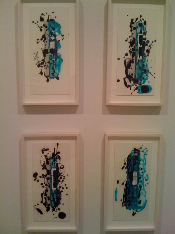 Color Study 69, 70, 71, 2009, Color Study 1, 2010