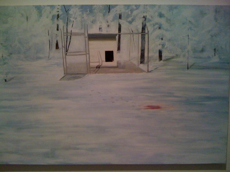 Heather Sherman, Backyard, 2009