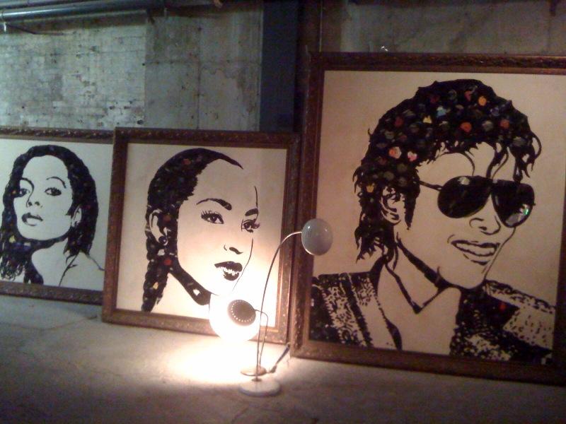 Diana Ross, Sade, Michael Jackson