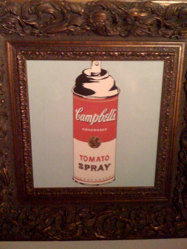 Campbells Spray Can