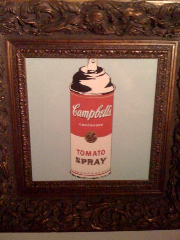 Campbells Spray Can