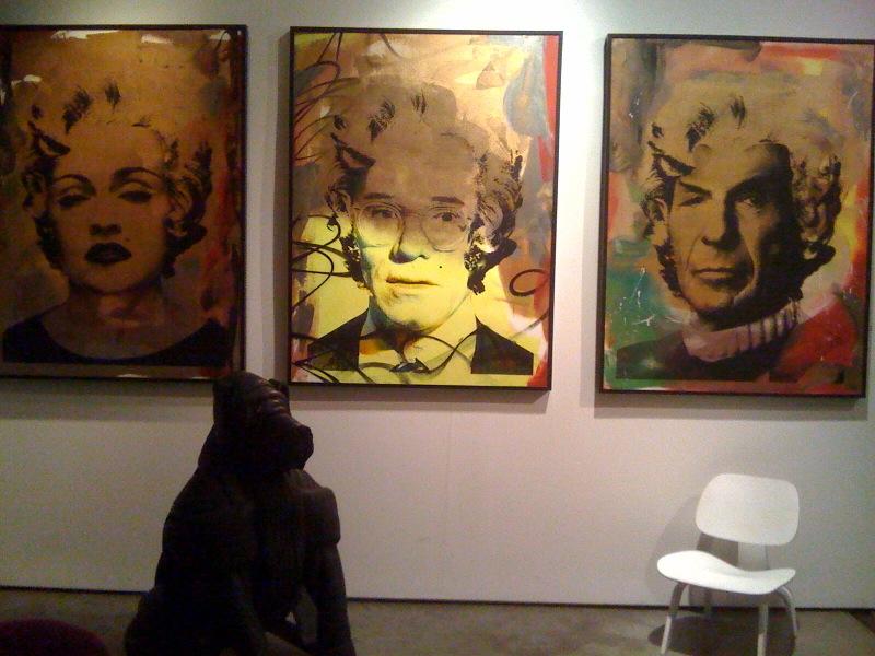 Madonna, Warhol, Spock