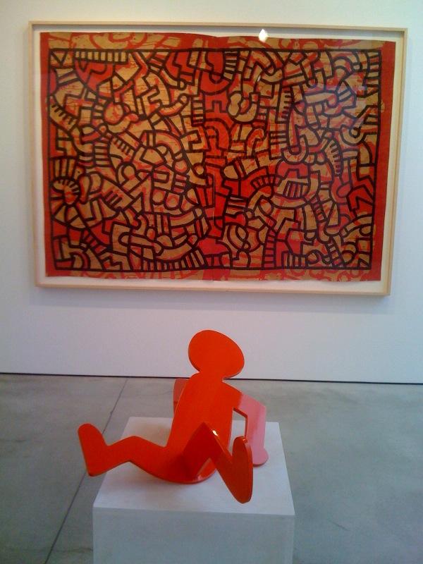 Untitled, 1979, Untitled (Breakdancer or Red Fallen Man), 1986