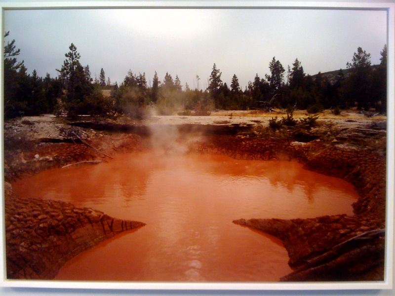 Victoria Sambunaris, Untitled (Tomato Pool, Yellowstone), 2008