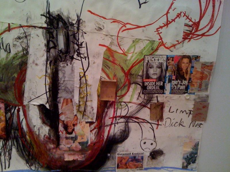 Inside Her Ordeal, 2009, close up
