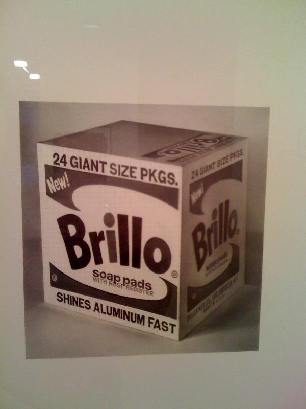 Warhol Brillo Box, 2009