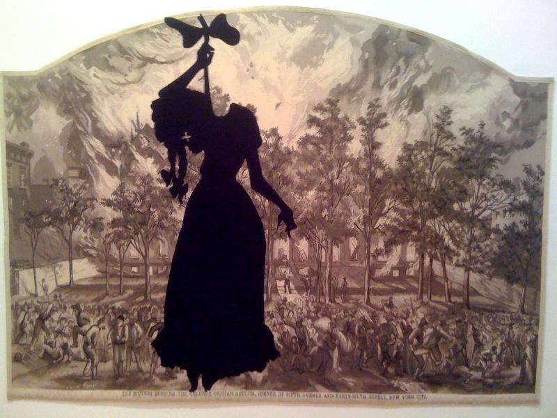Kara Walker, A Warm Summer Evening in 1863, 2008