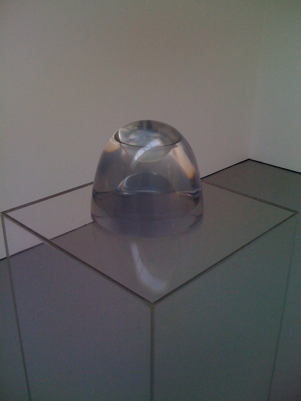 Helen Pashgian, Untitled, 1968-9, dome