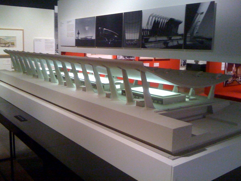 Dulles International Airport Terminal Model