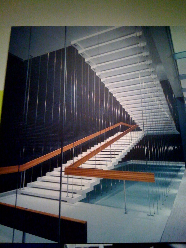 General Motors Technical Center Stairway