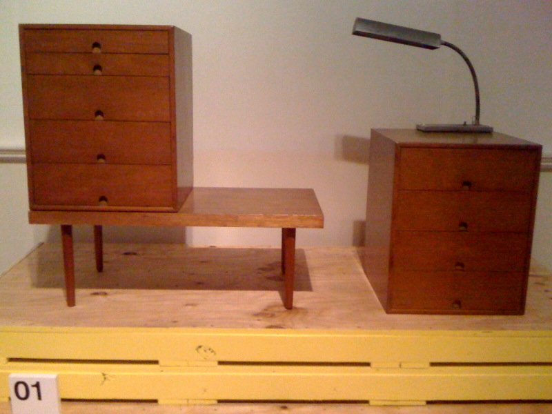 Storage unit, 1941, Charles Eames and Eero Saarinen