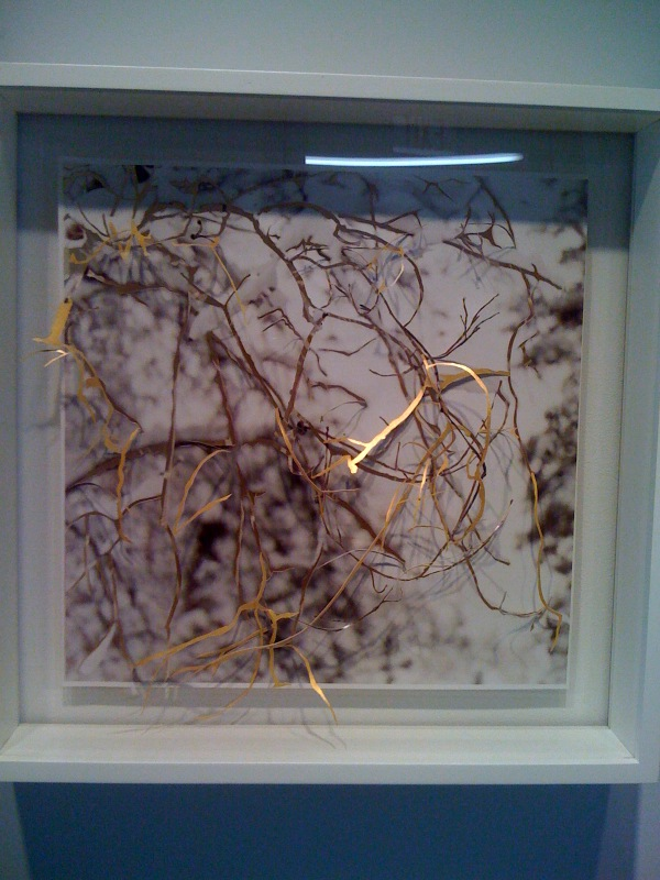 Untitled (Gold woods), 2008