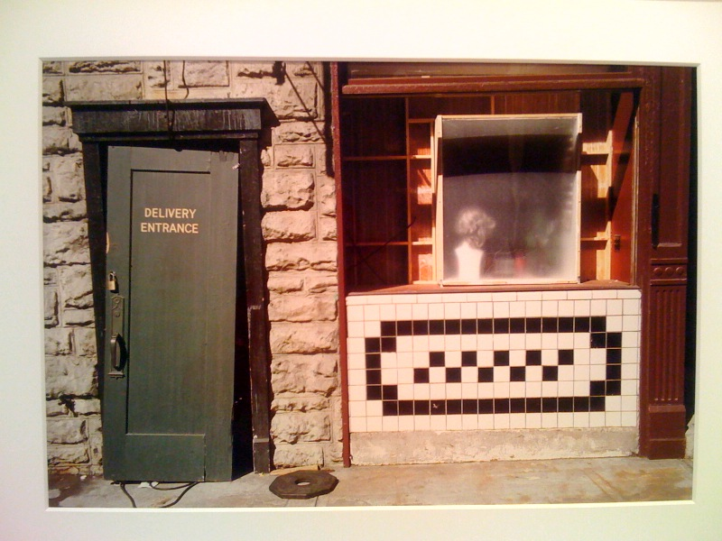UNTITLED (DOOR, WHITE AND BLACK TILE, PARAMOUNT LOT), 2000
