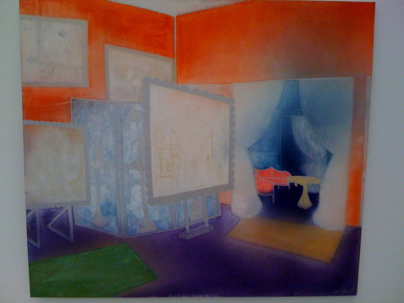 Interior (purple and red) 2, 2009