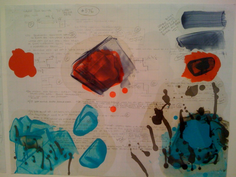 Working Drawing for Painting 576 (right), 2007
