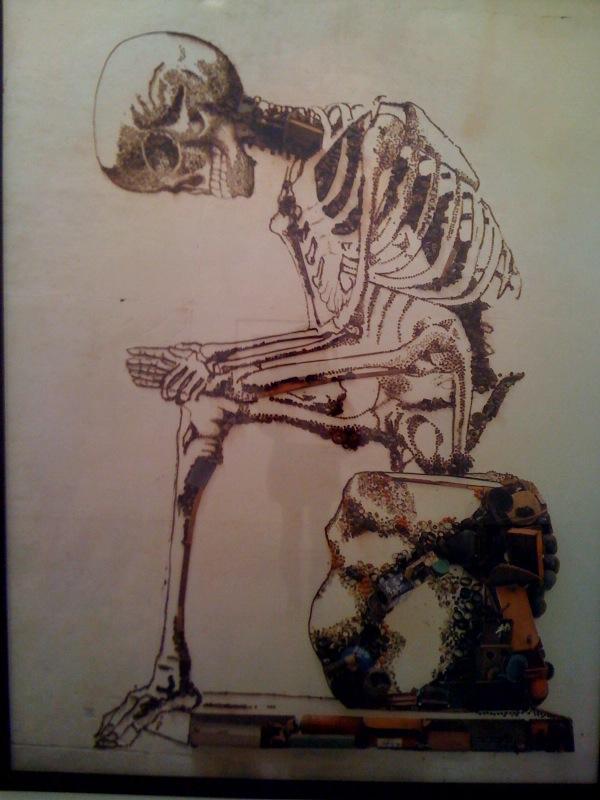 Anatomy, after Francesco Bertinatti (Pictures of Junk), 2009