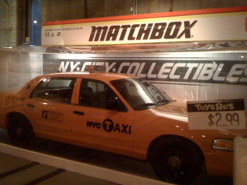 Matchbox Taxi