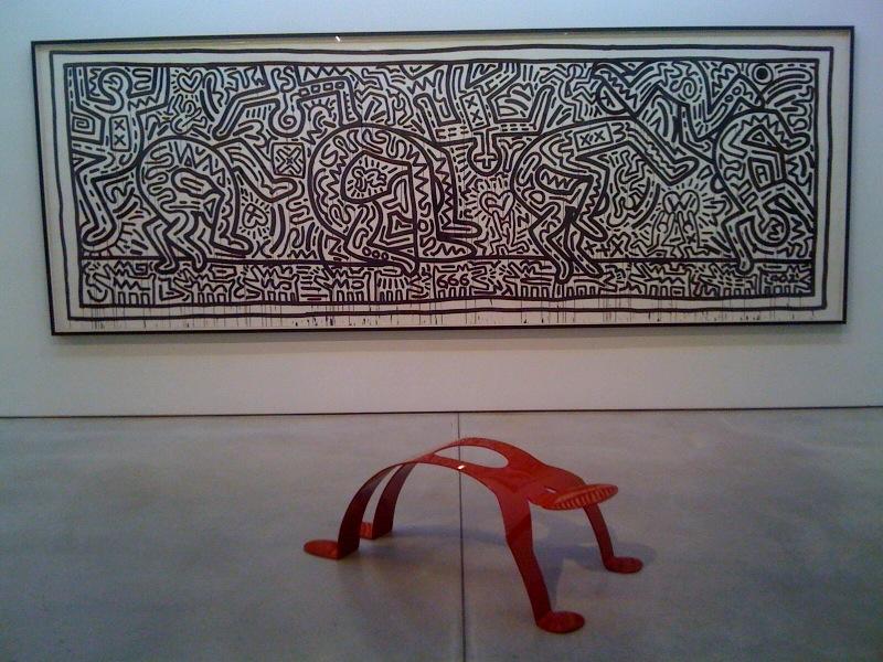 Untitled (Acrobats), 1982, Untitled (Break Dancer), 1985