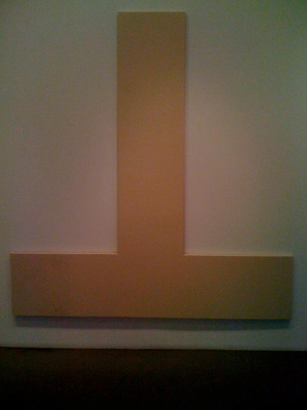 Joe Bradley, Untitled, canvas, 2010