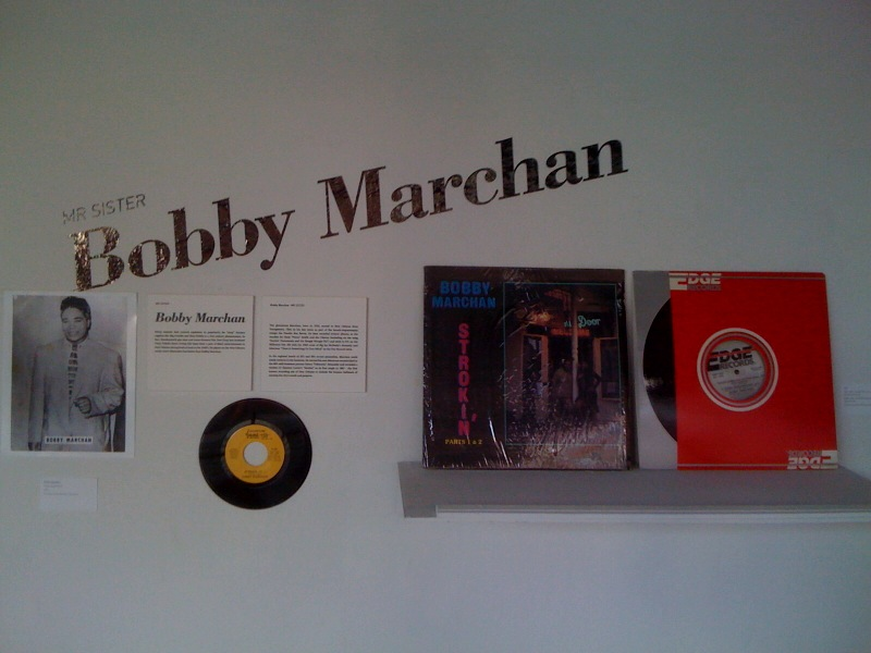 Bobby Marchan wall