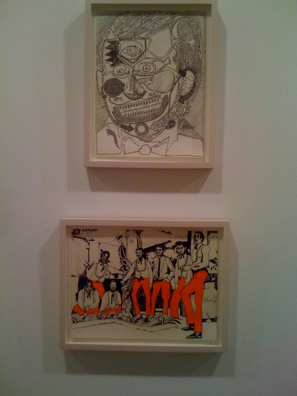 Dark Cheek, 2009-10, Orange Pants, 2009-10
