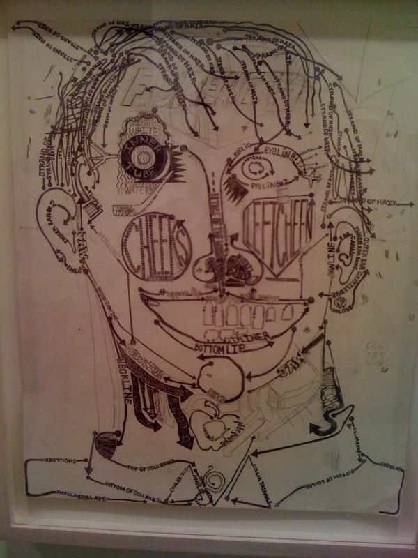 Text Face, 2007-10