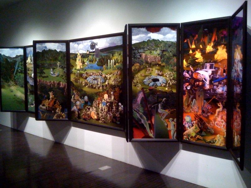 Microcosm, 9 Panel complex work, 2008