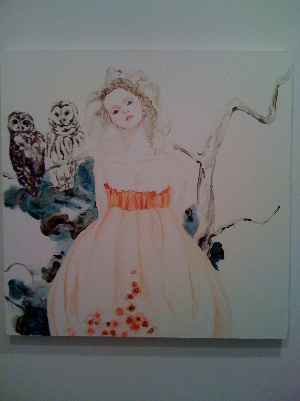 Athena with Spotted Owls, 2010