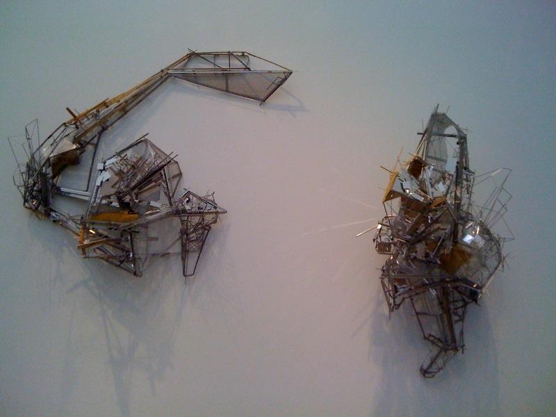 Untitled sculpture W5-1, 2010, Untitled sculpture W5-2, 2010