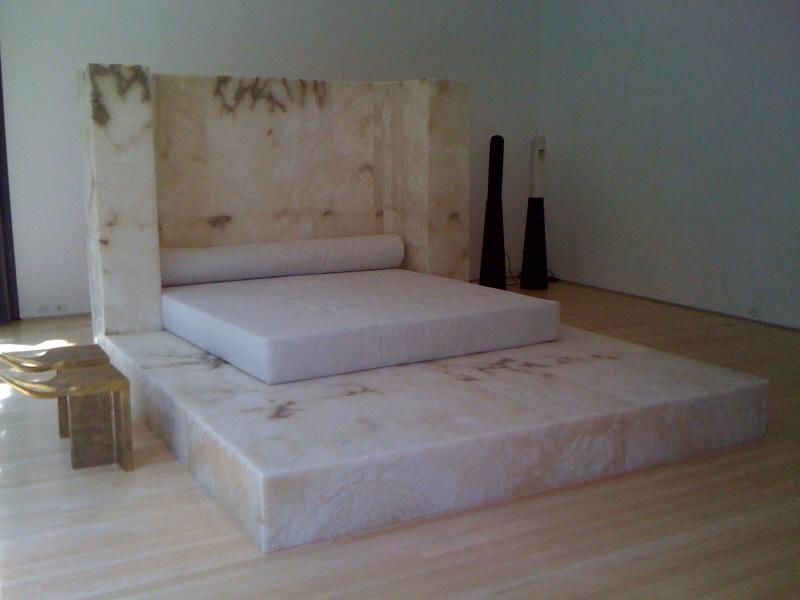 Low Table, 2007, Pavane for a Dead Princess, 2010, Lamp, 2007