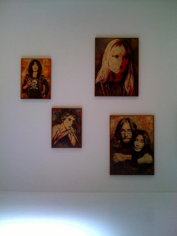 Patti Smith, Iggy Pop, Nico, John Lenno and Yoko Ono